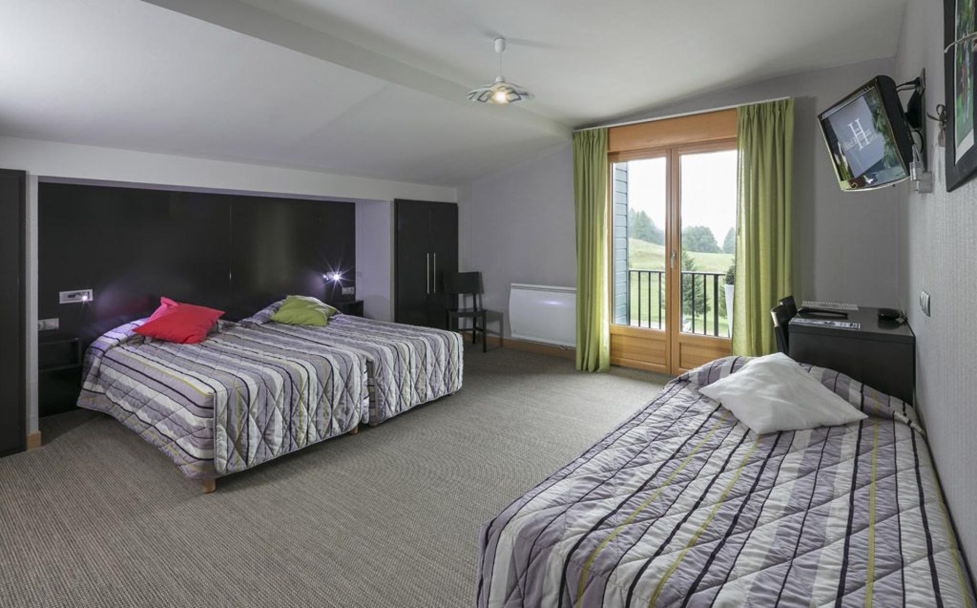 Exemple d'une chambre triple