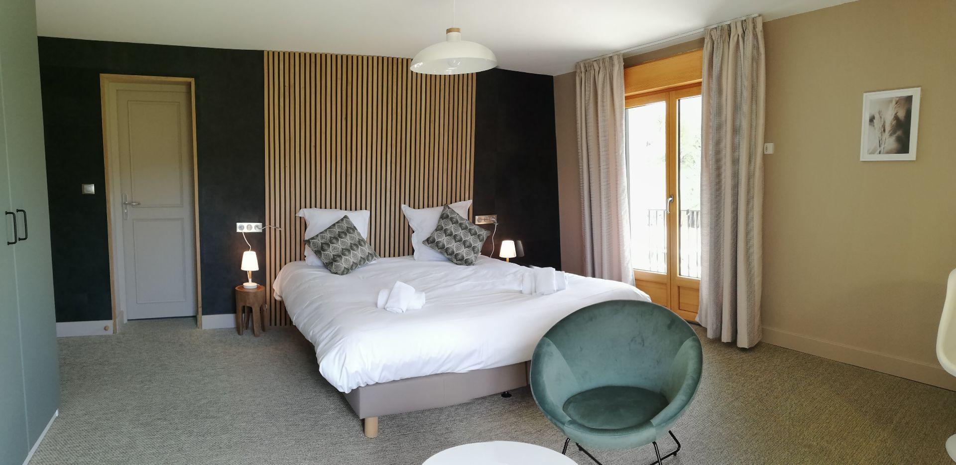 Exemple d'une chambre double